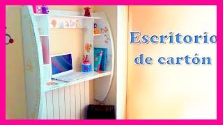 getlinkyoutube.com-mueble de pared hecho con cartón Diy tutorial paso a paso manualidades baratas