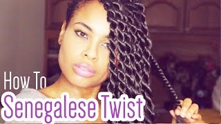 getlinkyoutube.com-How-to Senegalese Twists like a Pro!