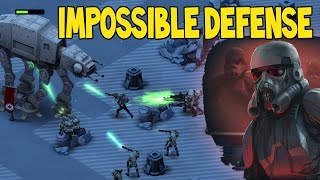 getlinkyoutube.com-UNDEAD TROOPERS? IMPOSSIBLE HEROIC DEFENSE!!  | Star Wars Commander Empire Episode # 155