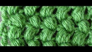 getlinkyoutube.com-Crochet Puff Stitch - Puff Stitch