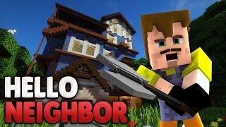 getlinkyoutube.com-Gelingt die FLUCHT ?!😰 | Minecraft Hello Neighbor