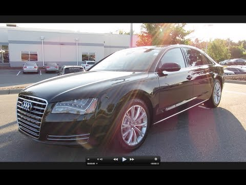 2012 Audi A8L Start Up, Exhaust, and In Depth Tour