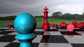 getlinkyoutube.com-Maya 3D Chess Fight Animation