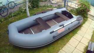 getlinkyoutube.com-Обзор лодки Посейдон Смарт 290 + доработки