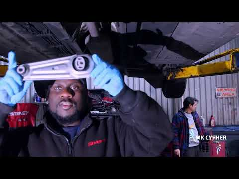 How to Replace a Renault scenic Engine Mount/stabiliser(kaden Presents)