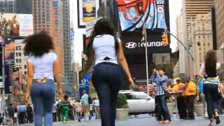 getlinkyoutube.com-HotSexyFit Brazilian Butt Lift Jeans Commercial in Times Square NYC