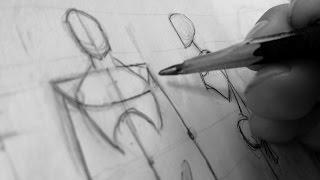 getlinkyoutube.com-Como Iniciar Un Dibujo (Depende de tu nivel)
