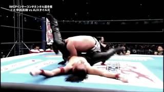 AJ Styles vs Shinsuke Nakamura Highlights  Wrestle Kingdom 10 1 4 16