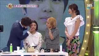 getlinkyoutube.com-SBS [스타킹] - 화장!킹, 여성분들 주목 주목~