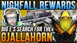 getlinkyoutube.com-Destiny Nightfall Rewards x3 The Nexus Strike: Big E's Quest for the Gjallahorn