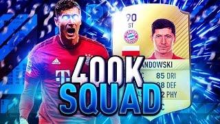 getlinkyoutube.com-BRILLIANT 400K SQUAD BUILDER!!! Ft. Lewandowski | FIFA 17