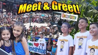 getlinkyoutube.com-EvanTubeHD MEET & GREET at Downtown Disney!