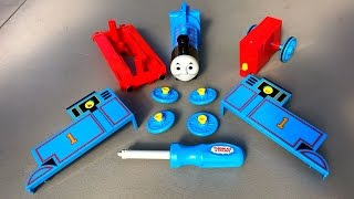 getlinkyoutube.com-Rare Thomas and Friends Toy Trains Play Set n Percy, Egg Surprise