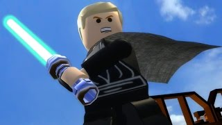 getlinkyoutube.com-LEGO Star Wars: The Complete Saga Walkthrough Part 27 - The Great Pit of Carkoon (Episode VI)