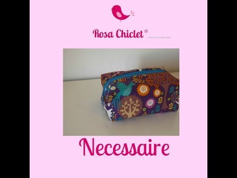 Projectos de costura criativa - Tutorial Necessaire*
