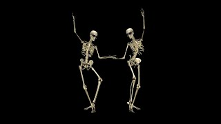 getlinkyoutube.com-Funny Skeleton - Belly Dance II - Pack of 2