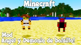 getlinkyoutube.com-Minecraft 1.7.10 MOD ANGEL Y DEMONIO DE BOLSILLO! Pocket Angel Mod Español!