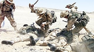 getlinkyoutube.com-Knife Fight- Americans vs. ISIS - Helmet Camera
