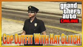 Gta 5 Online - NEW How To Get The Police Uniform Cop Outfit, Easiest Method Patch 1 28