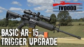 getlinkyoutube.com-Basic AR-15 Accuracy with Trigger Upgrade