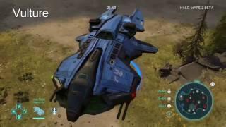 getlinkyoutube.com-Halo Wars 2 Beta - All Units - UNSC and Banished
