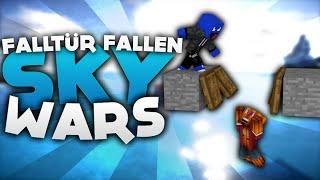 getlinkyoutube.com-Falltür Fallen!! - Minecraft Sky Wars! | DieBuddiesZocken