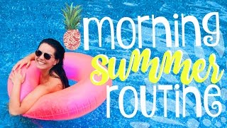 getlinkyoutube.com-My Summer Morning Routine! | 2016