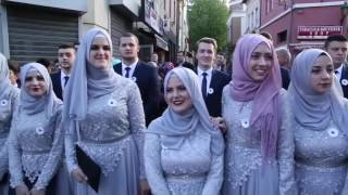 Bosna-Hersek muslum brothers and sisters part-2 (Madrasa students NOT wedding)