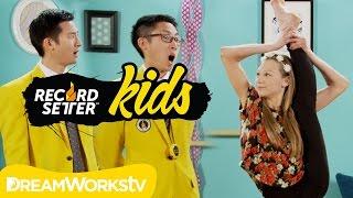 getlinkyoutube.com-Autumn Miller's Ultimate Flexibility Challenge I RECORDSETTER KIDS