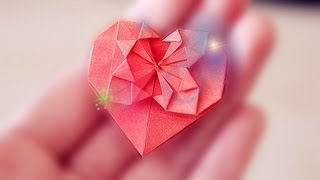 getlinkyoutube.com-HEART 折り紙 (Tutorial)