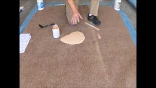 getlinkyoutube.com-How to remove paint from carpet