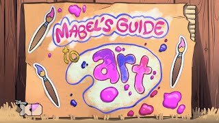 getlinkyoutube.com-Gravity Falls - Mabel's Guide To Art - Official Disney XD UK HD