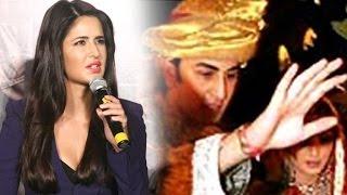 getlinkyoutube.com-Katrina Kaif's SHOCKING Reaction On Marriage With Ranbir Kapoor At Phantom Trailer Launch