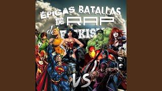 getlinkyoutube.com-Los Vengadores Vs la Liga de la Justicia (Épicas Batallas de Rap del Frikismo)