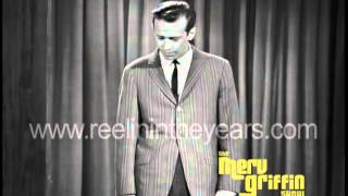 George Carlin Standup  Indian Staff Sargent Merv Griffin Show 1965