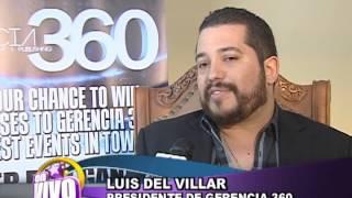 """getlinkyoutube.com-Luis del Villar no quiere a la Nena Guzman en su compania disquera. """"EN VIVO"""""""