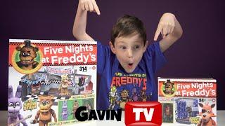 getlinkyoutube.com-Five Nights at Freddy's McFarlane Brick Build Sets FNAF EP1