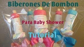 getlinkyoutube.com-Mamila/Biberon En Bombón Para Baby Shower Muy Fácil (2 Ideas) - Madelin's Cakes