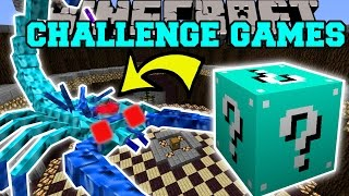 getlinkyoutube.com-Minecraft: ARCTIC SCORPION CHALLENGE GAMES - Lucky Block Mod - Modded Mini-Game