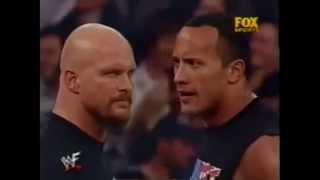 WWE Stone Cold Steve Austin vs The Rock Tribute - Numb/Encore
