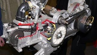 getlinkyoutube.com-Восстановление скутера. Выпуск 3. Сборка двигателя 139QMB с нуля. Complete engine assembly 139QMB.