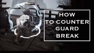 getlinkyoutube.com-How to Counter Guard Break in For Honor (Advanced Tutorial)