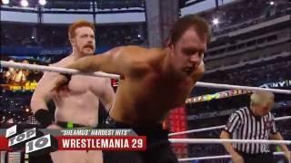 getlinkyoutube.com-Sheamus' Hardest Hits – WWE Top 10