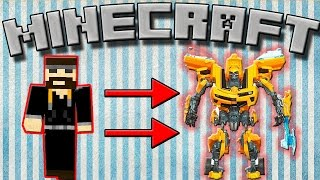 Трансформеры в Майнкрафт, превратись в самолёт! Transformers mod 1.7.10, #21
