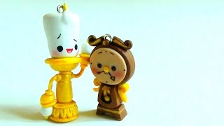 getlinkyoutube.com-Lumiere & Cogsworth From Beauty and the Beast Tutorial (Polymer Clay)