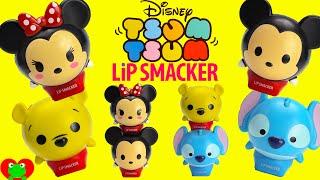 getlinkyoutube.com-Tsum Tsum Lip Smackers and Frozen Lip Balms