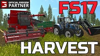 getlinkyoutube.com-FARMING SIMULATOR 2017 | WHEAT HARVEST | NEW TRACTOR PURCHASE | EPISODE #1