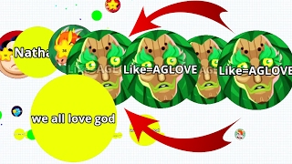 getlinkyoutube.com-Agar.io Best Team And Solo Revenge Agar.io Best Moments Mobile!