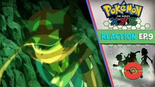 Pokemon XYZ Anime Reaction Ep. 9 - Terminus Cave! The Mystery of Z is Set in Motion!!