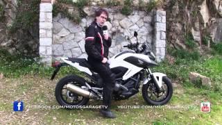 getlinkyoutube.com-Motos Garage TV : Test HONDA NC750X